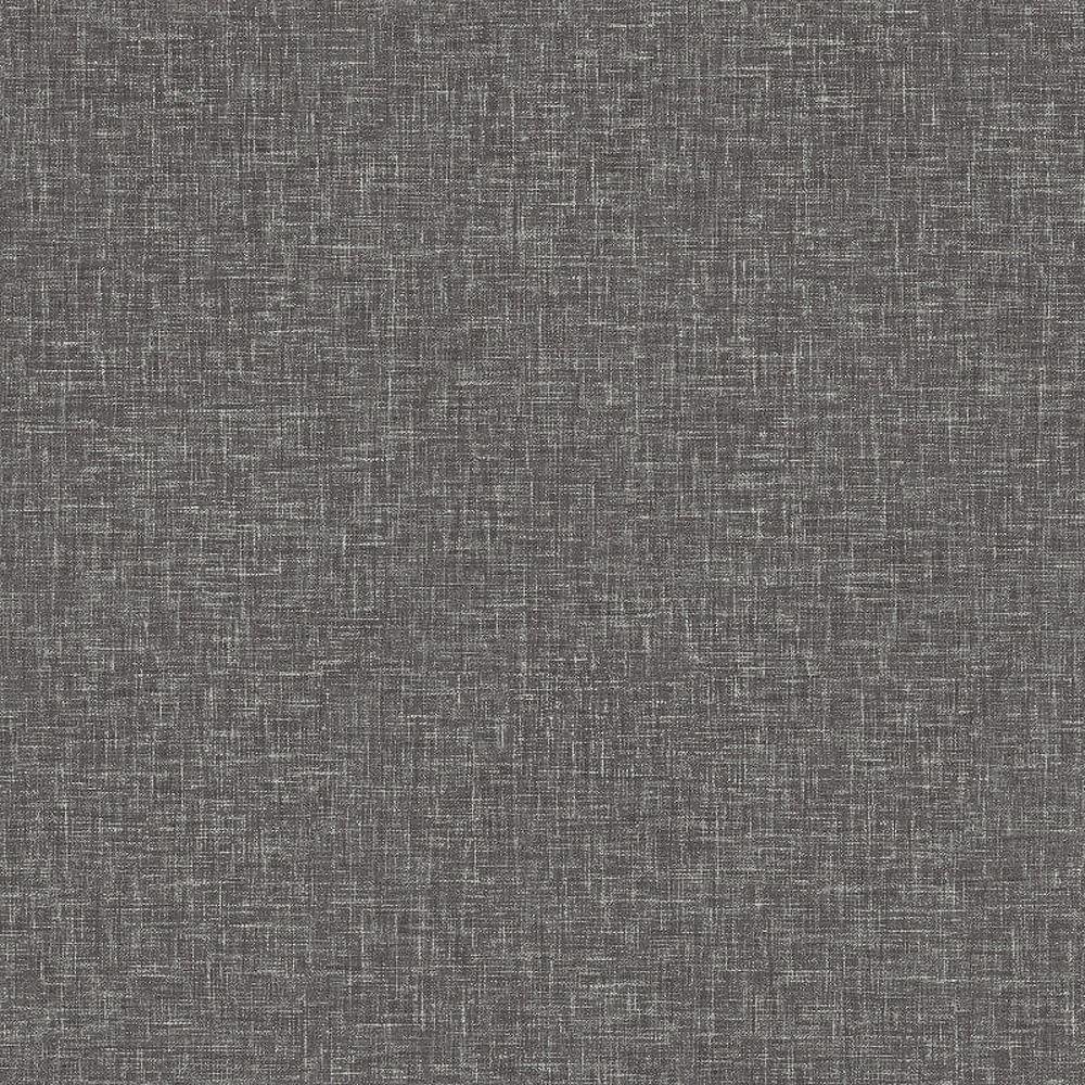 Arthouse Linen Texture Charcoal Wallpaper Woven Effect ...