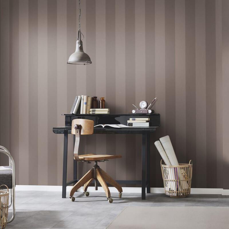Stripe-Striped-Wallpaper-Paste-The-Wall-Luxury-Modern-4-Colours-Erismann thumbnail 5