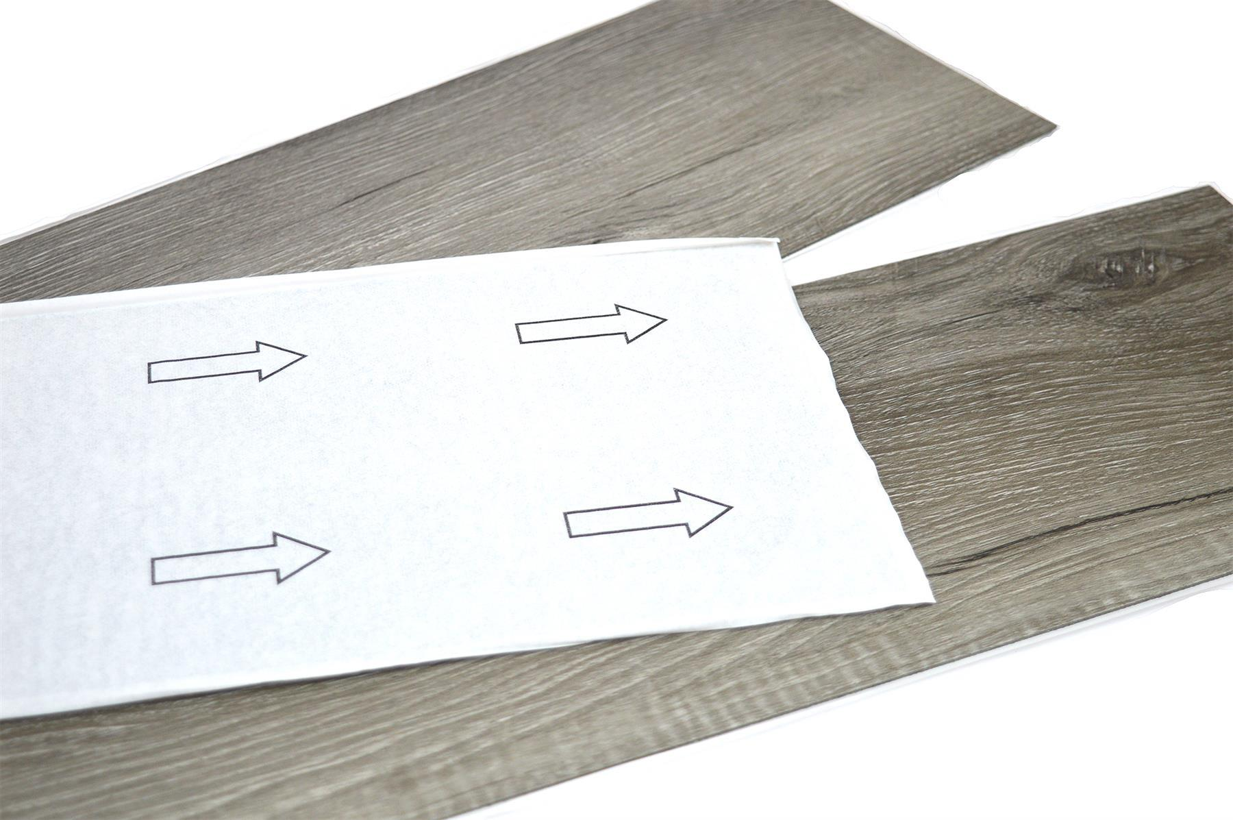 thumbnail 18 - Floor Planks Tiles Self Adhesive Dark Grey Wood Vinyl Flooring Kitchen Bathroom