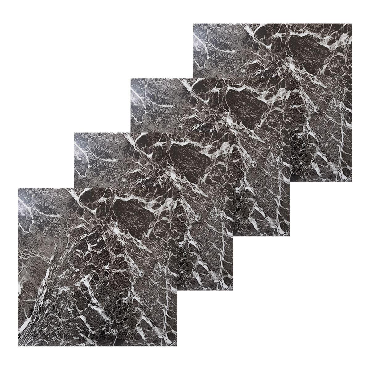 Floor Tiles Self Adhesive Marble Effect Tile Vinyl