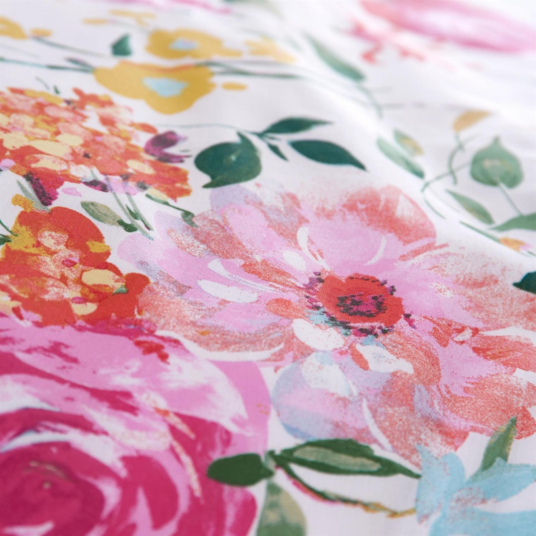 Catherine-Lansfield-biancheria-da-letto-Salisbury-Copripiumino-Set-Tende-Cuscino-Copriletto miniatura 25