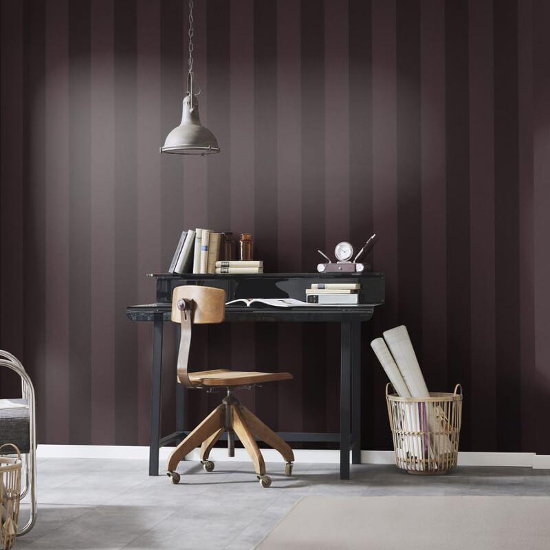 Stripe-Striped-Wallpaper-Paste-The-Wall-Luxury-Modern-4-Colours-Erismann thumbnail 9