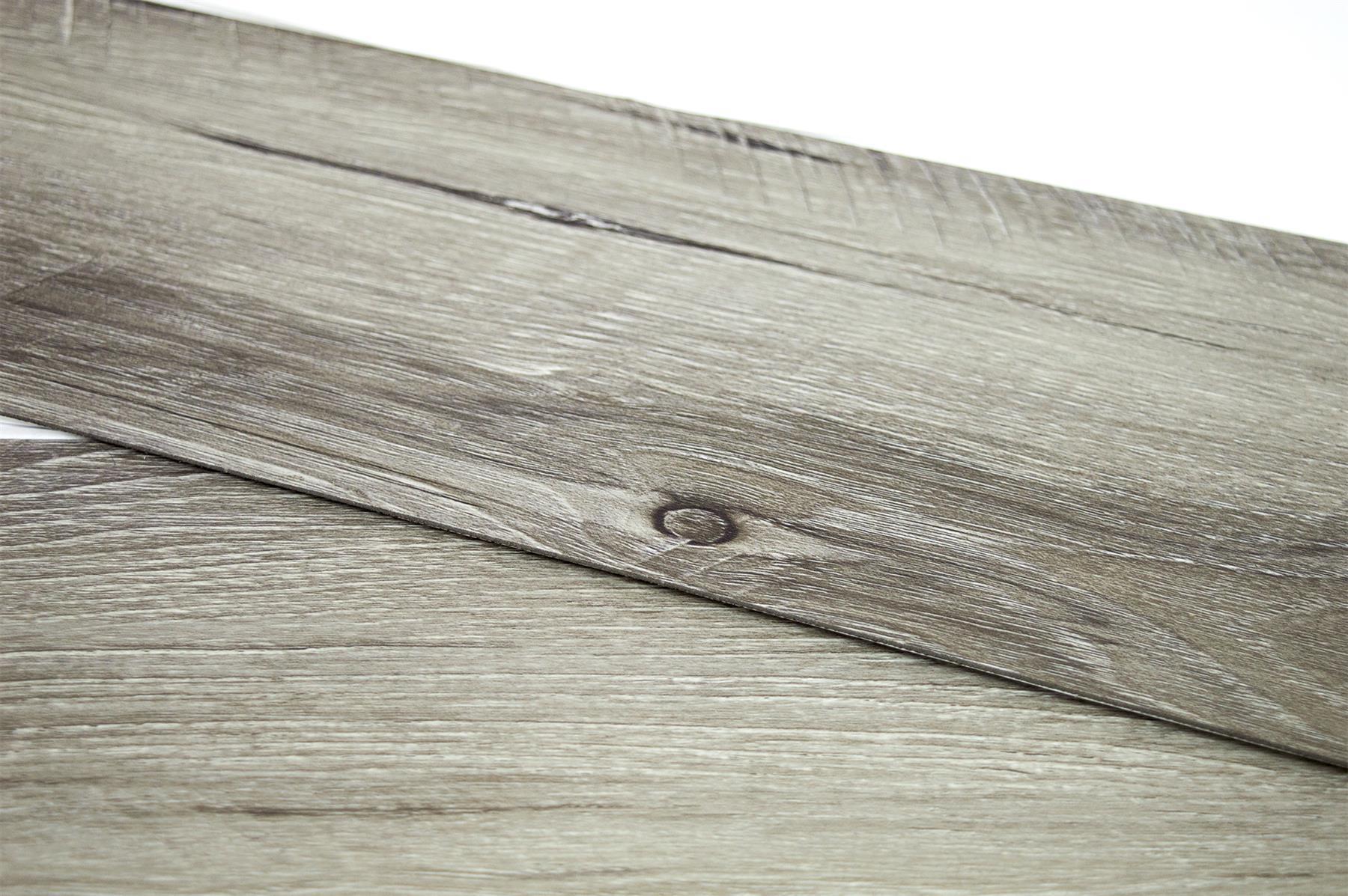 thumbnail 17 - Floor Planks Tiles Self Adhesive Dark Grey Wood Vinyl Flooring Kitchen Bathroom
