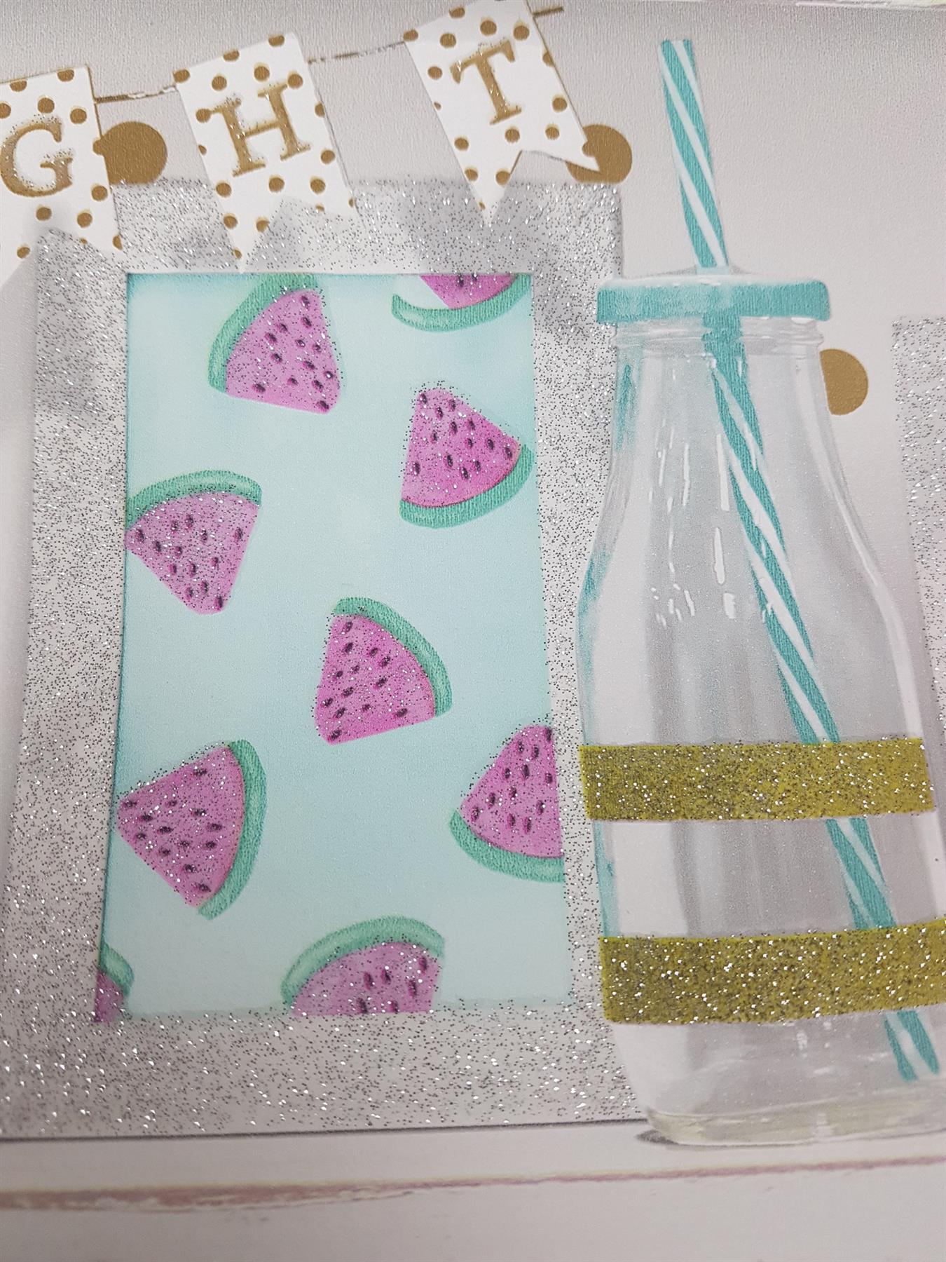 Girls-Unicorn-Wallpaper-Children-039-s-Pink-White-Glitter-Rainbow-Butterflies-Floral thumbnail 31