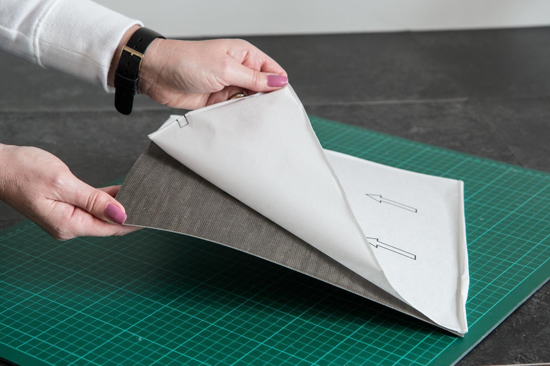 5 Pack Self Adhesive Grey Wood Effect Vinyl Flooring Tile ...