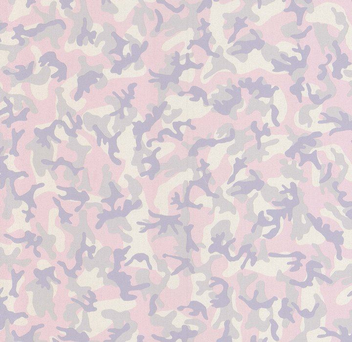 Details About Girls Pink Camouflage Glitter Wallpaper Purple Grey Army Bedroom Military Camo
