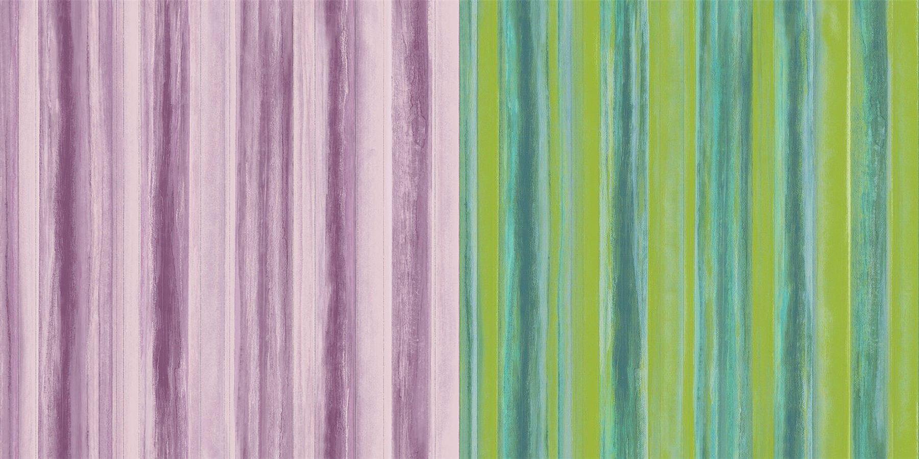Watercolour Stripe Wallpaper Purple Lilac Glitter Shimmer Vinyl Paste The Wall