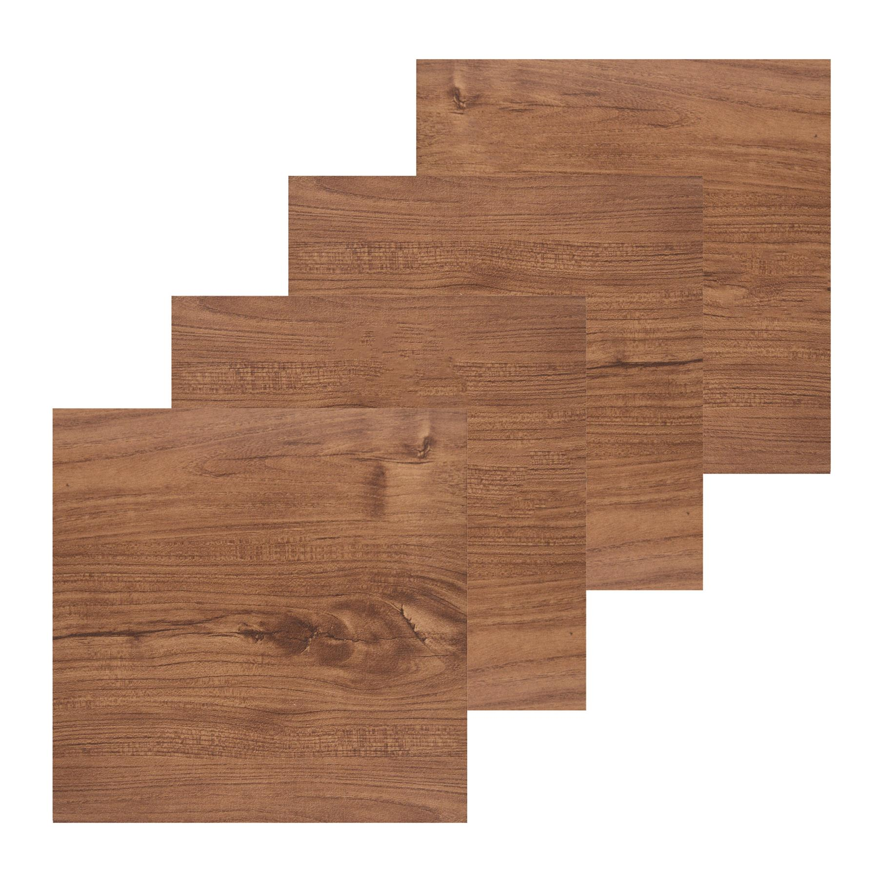 Floor-Tiles-Self-Adhesive-Vinyl-Flooring-Kitchen-Bathroom-Brown-Wood-Grain thumbnail 14
