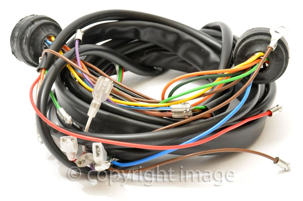 Details about Lightweight AJS Matchless Wiring Harness, 900570, 1958+ on