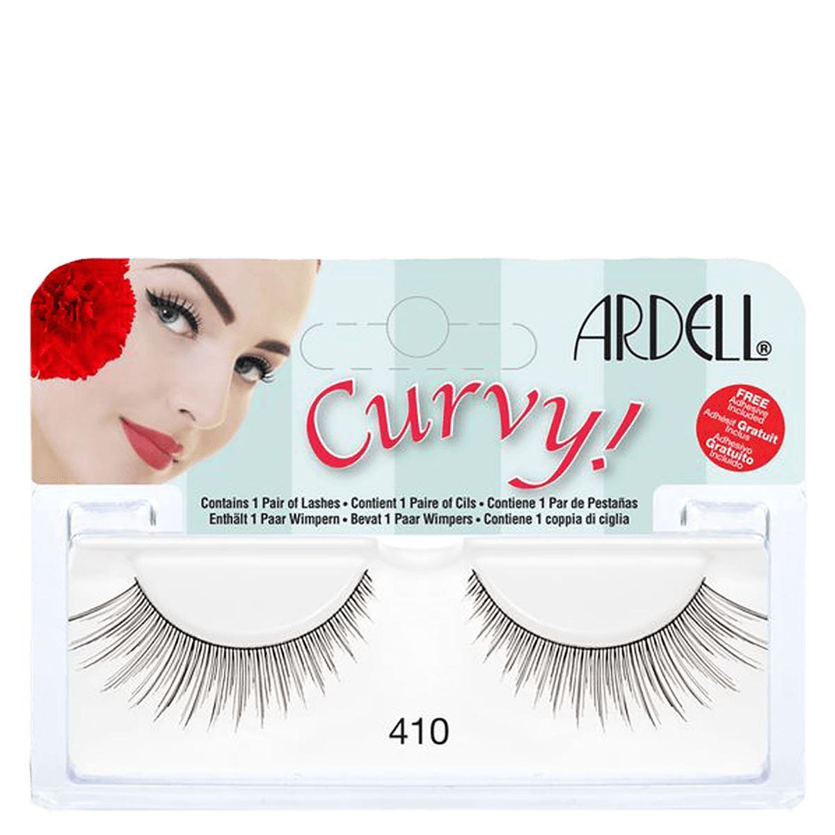 80c57544c37 Ardell Curvy Lashes 410 Black 74764615541 | eBay
