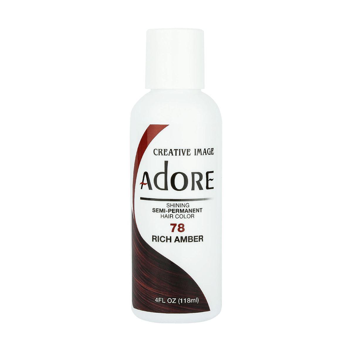 Creative Image Adore Shining Semi Permanent Hair Color 78 Rich Amber