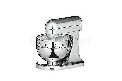 Kitchen Craft Novità a Forma di Timer da cucina 1 H Argento MIXER ...