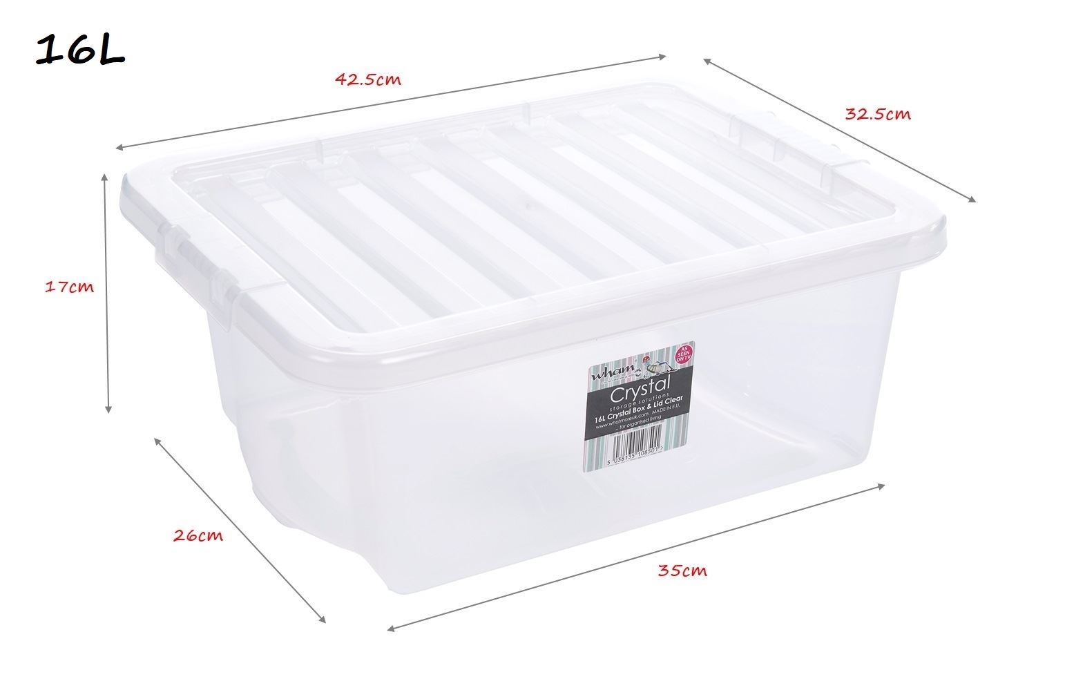 how to clean the sides of plastic boxes