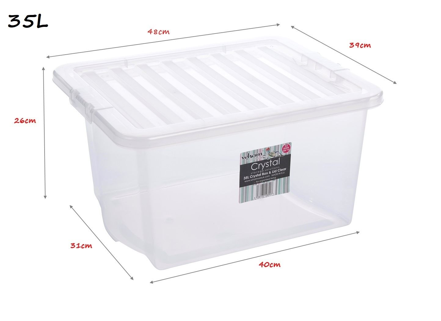 clear plastic boxes clear plastic storage boxes box container w lids home 11038