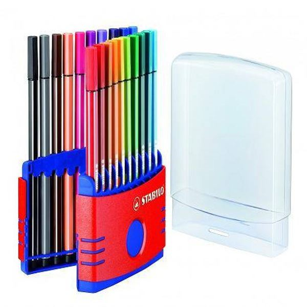 Stabilo-Pen-68-Fibre-Felt-Tip-Adult-Colouring-1-0mm-Pens-All-Pack-Sizes thumbnail 11