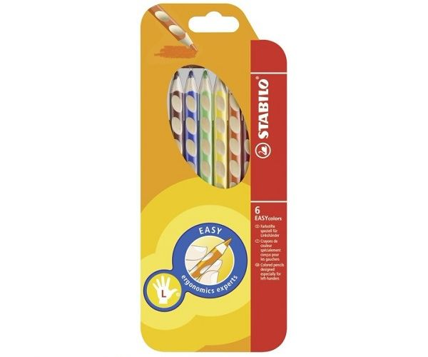 Stabilo-EASYColors-Colouring-Pencils-Easy-Colours-Right-amp-Left-6-or-12-Pack thumbnail 7