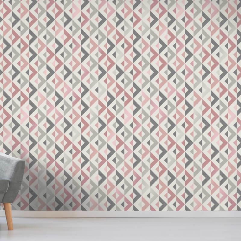 thumbnail 11 - Fine Decor Scandi Geo/Forrest Metallic Finish 10m Wallpaper