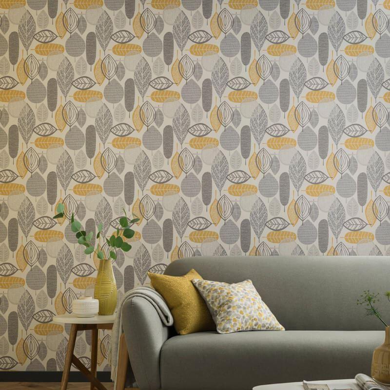 Arthouse-Malmo-Retro-Leaf-Pattern-10m-Wallpaper-3-Colours