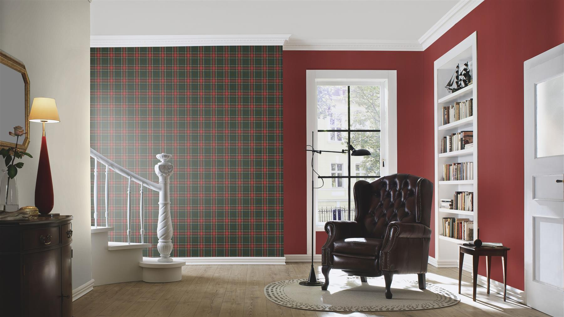 Checked-Tartan-Wallpaper-Textured-Glitter-Country-Check-Modern-Collection thumbnail 15