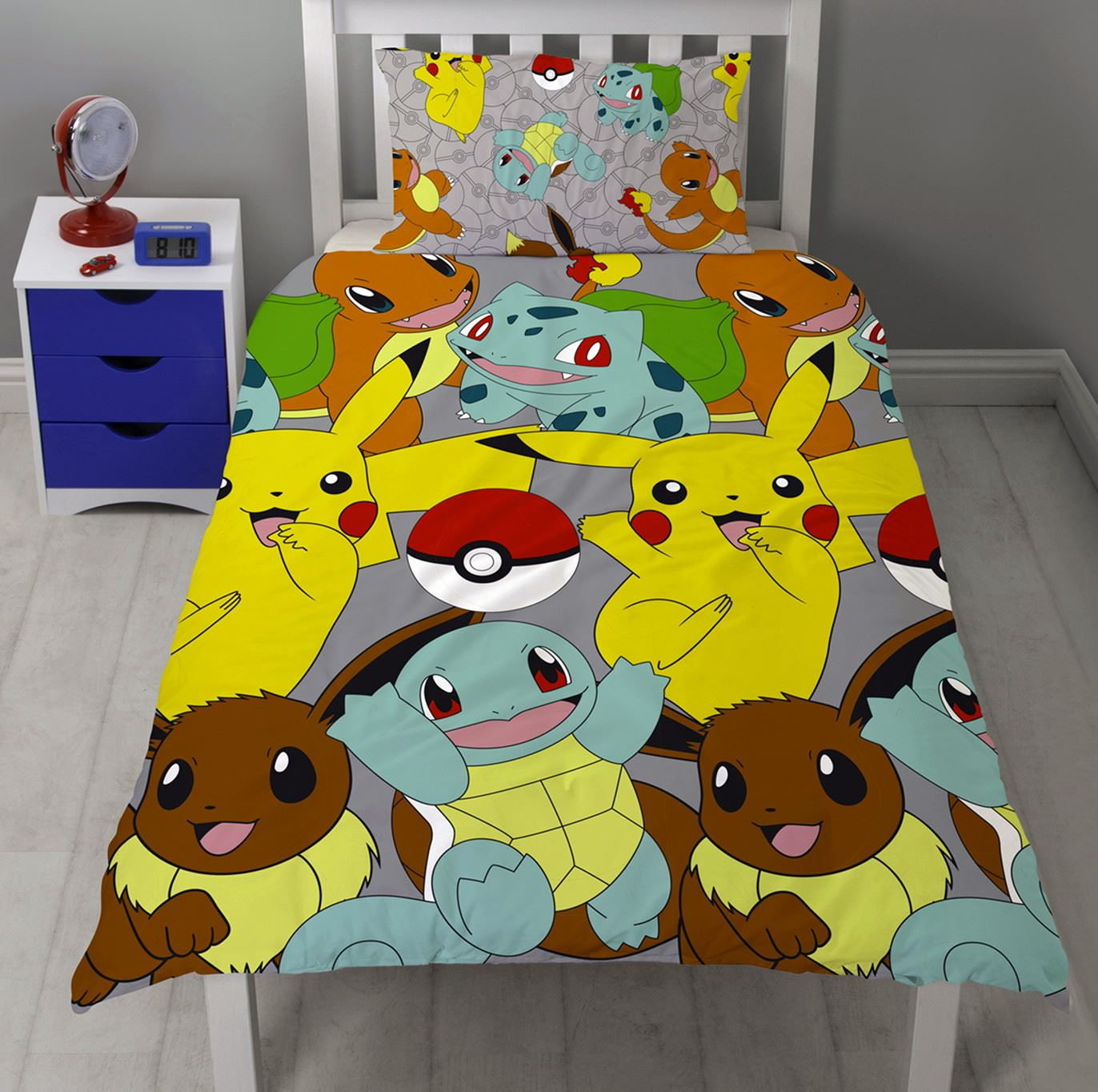 Official-Pokemon-Licensed-Duvet-Covers-Single-Double-Pikachu-Bedding-Gaming thumbnail 7