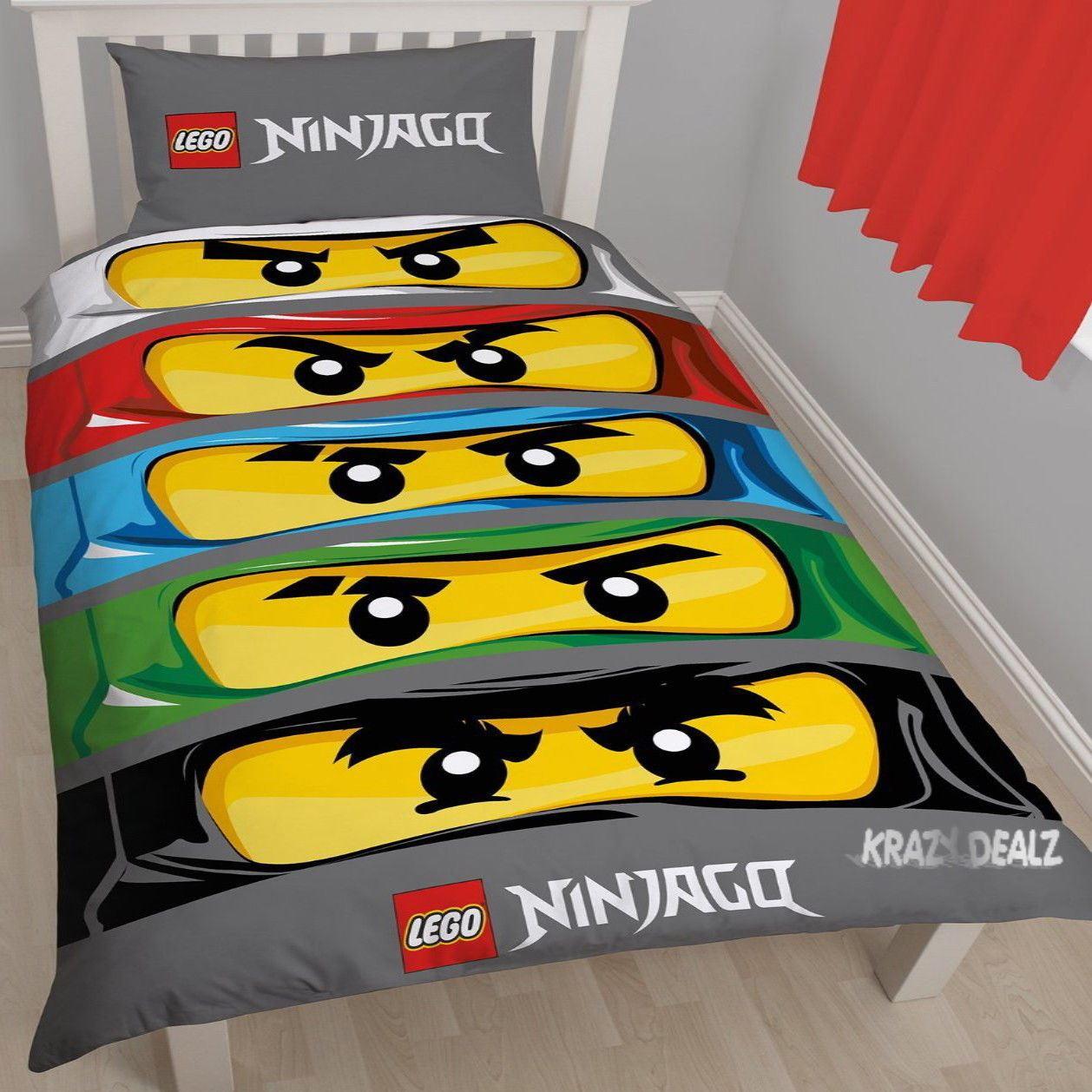 Official-Licensed-Lego-Duvet-Bedding-Ninjago-Batman-Star-Wars-Jurassic thumbnail 34