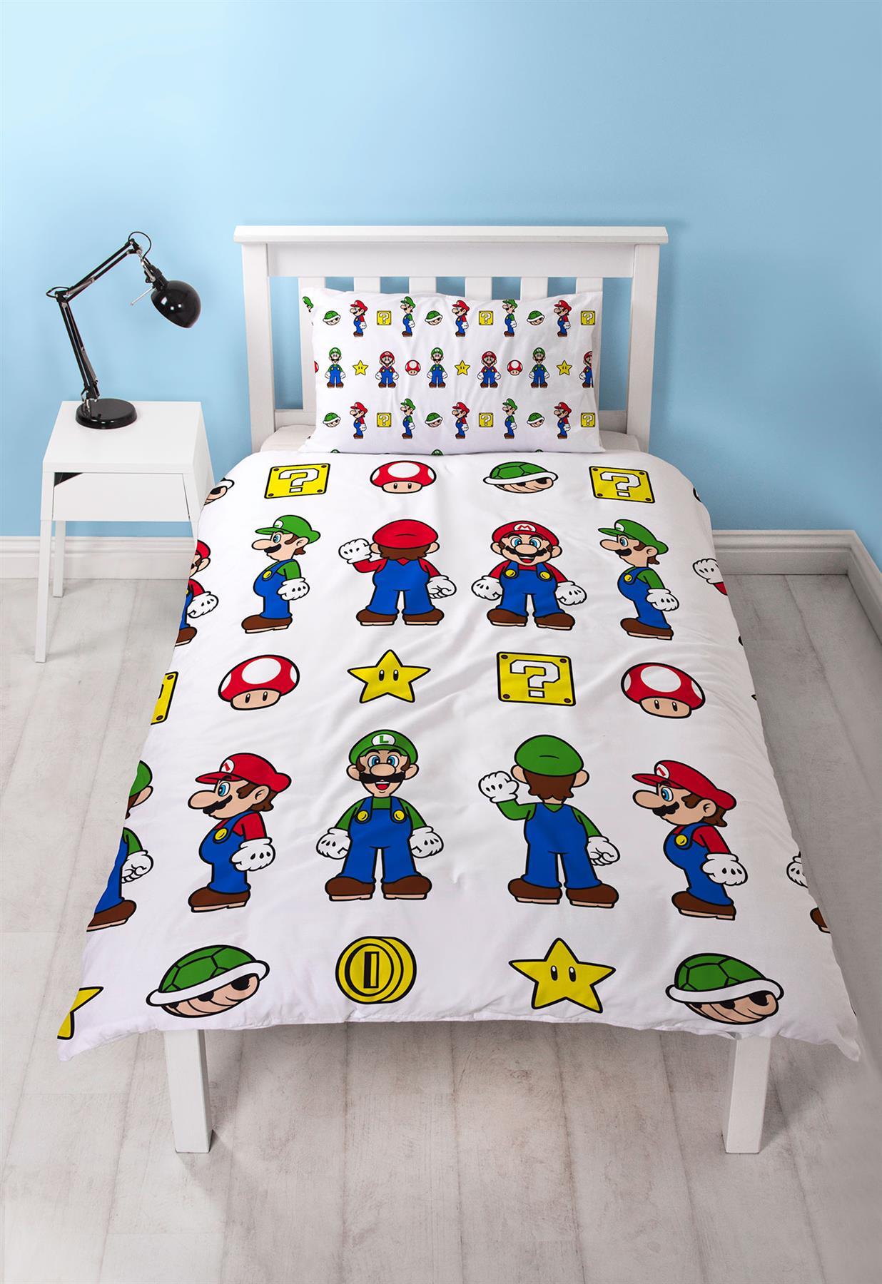 Official-Nintendo-Super-Mario-Licensed-Duvet-Covers-Single-Double-Odyssey-Maker thumbnail 35