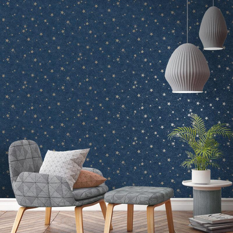 thumbnail 5 - Arthouse-Fine-Decor-Diamond-Stars-Glitter-Wallpaper-10m-6-Colours