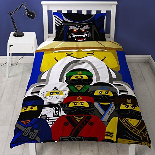 Official-Licensed-Lego-Duvet-Bedding-Ninjago-Batman-Star-Wars-Jurassic thumbnail 35