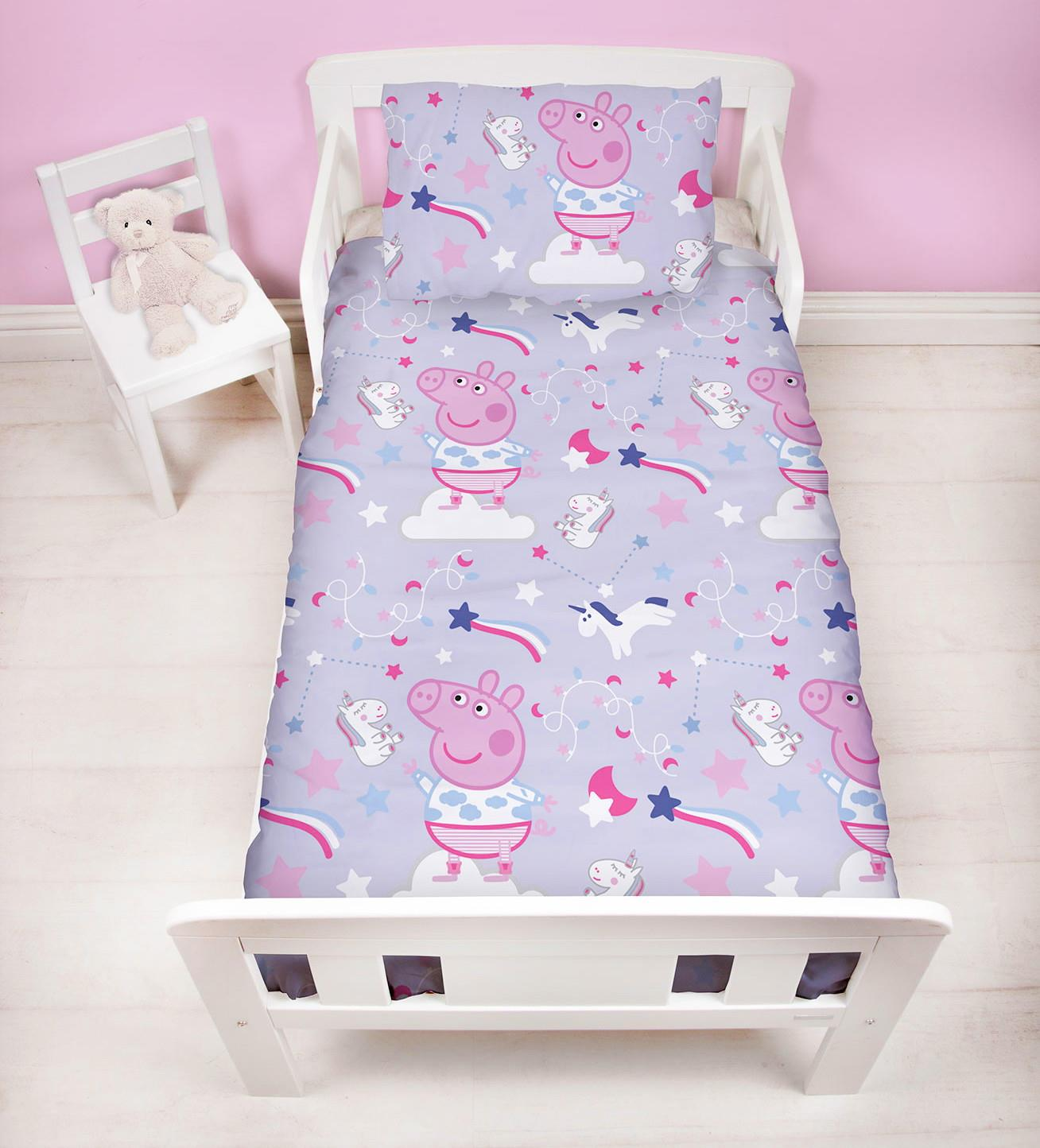 Official-Peppa-Pig-George-Duvet-Covers-Single-Double-Reversible-Bedding thumbnail 36