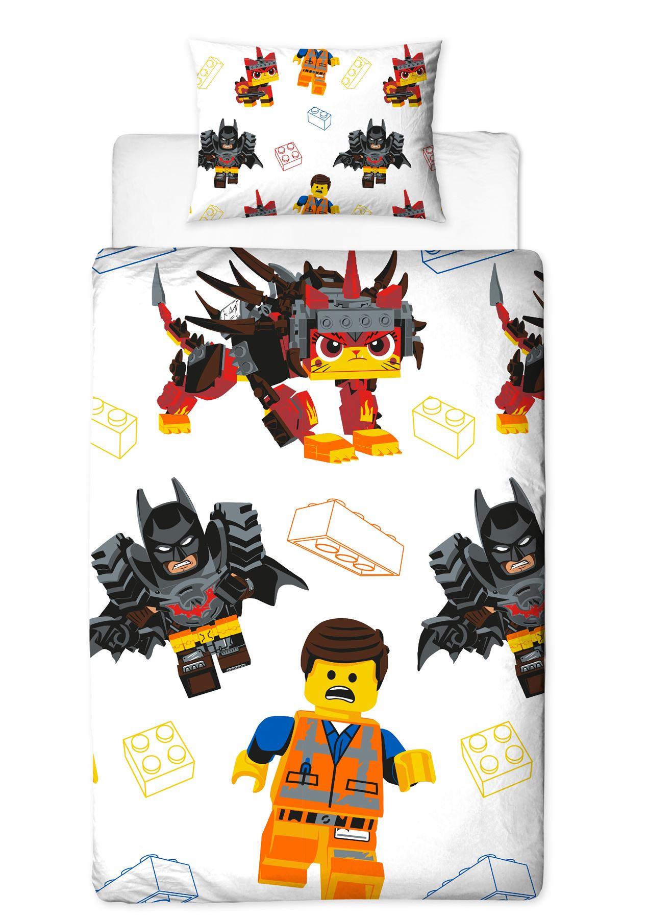 Official-Licensed-Lego-Duvet-Bedding-Ninjago-Batman-Star-Wars-Jurassic thumbnail 20