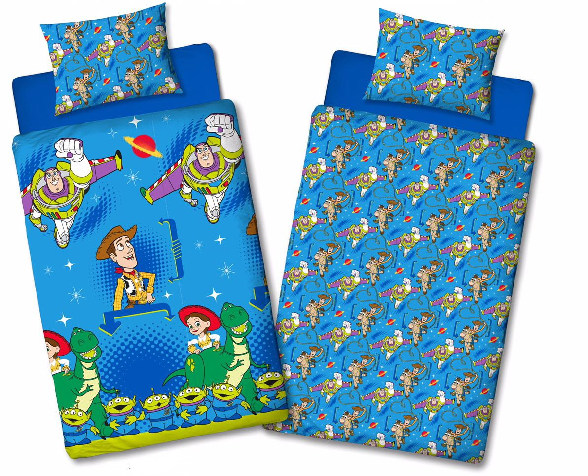 Official-Toy-Story-4-Duvet-Covers-Single-Double-Junior-Bedding-Buzz-Woody-Forky thumbnail 5
