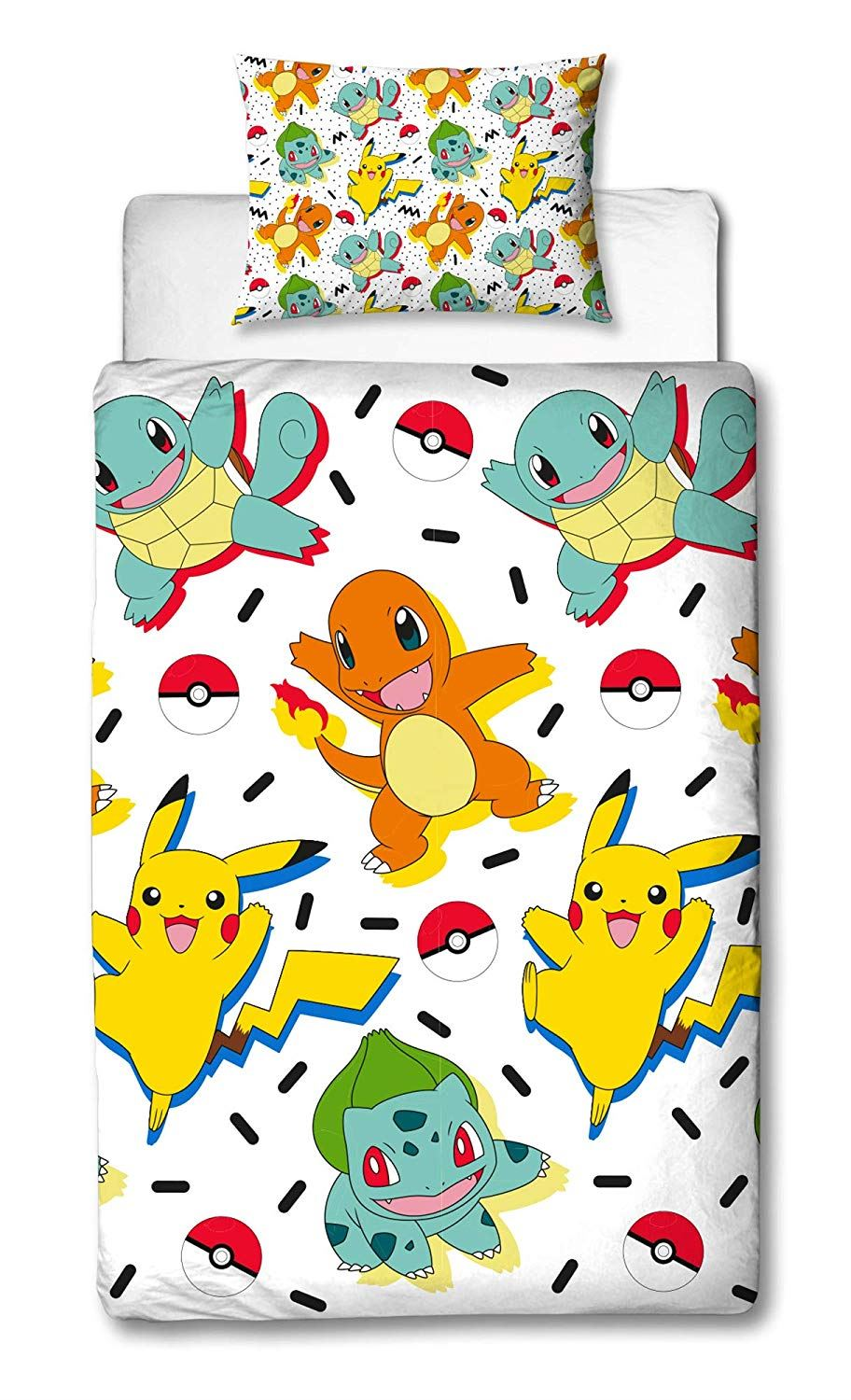 Official-Pokemon-Licensed-Duvet-Covers-Single-Double-Pikachu-Bedding-Gaming thumbnail 23