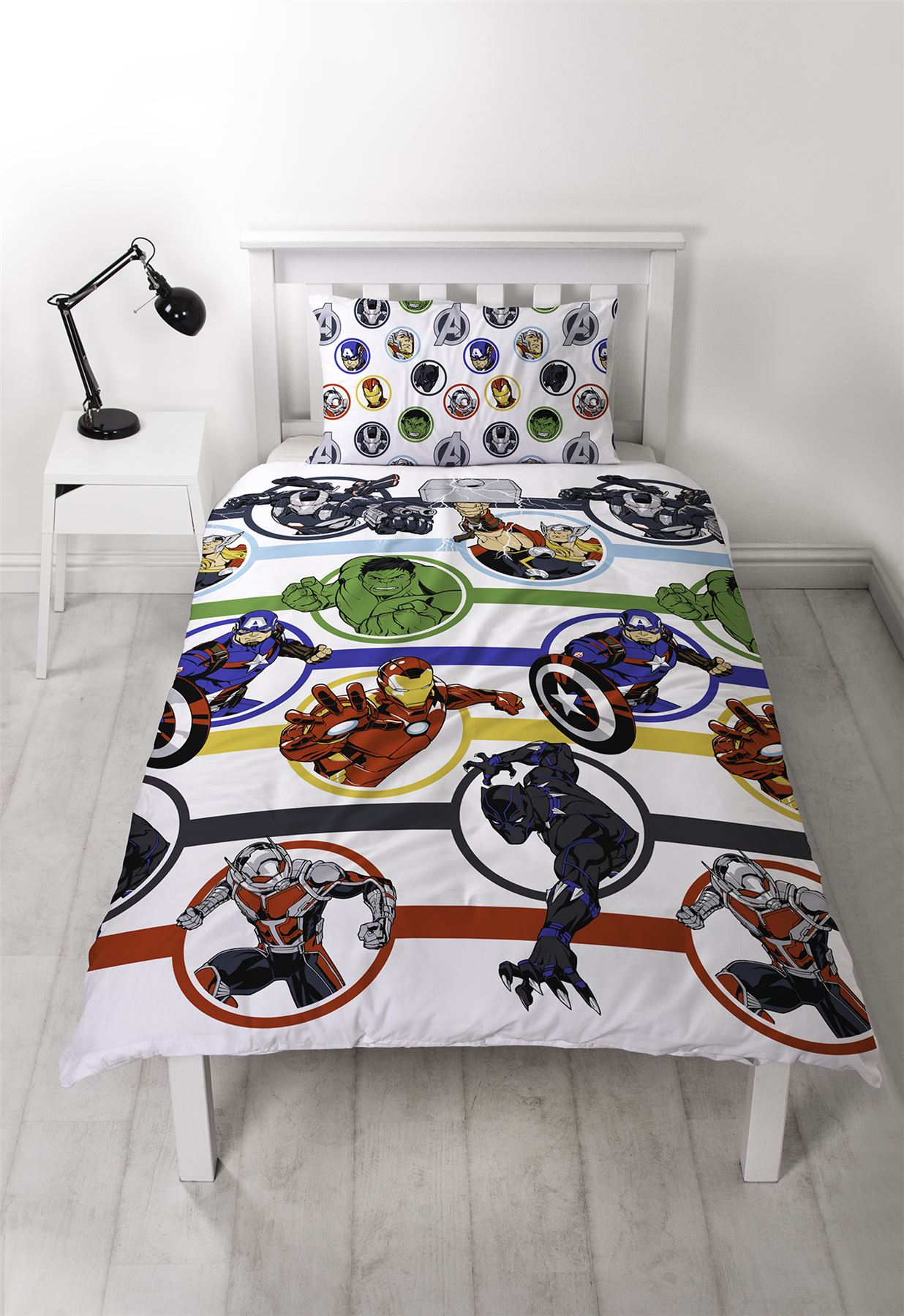 Official-Marvel-Comics-Avengers-Licensed-Duvet-Covers-Single-Double thumbnail 16