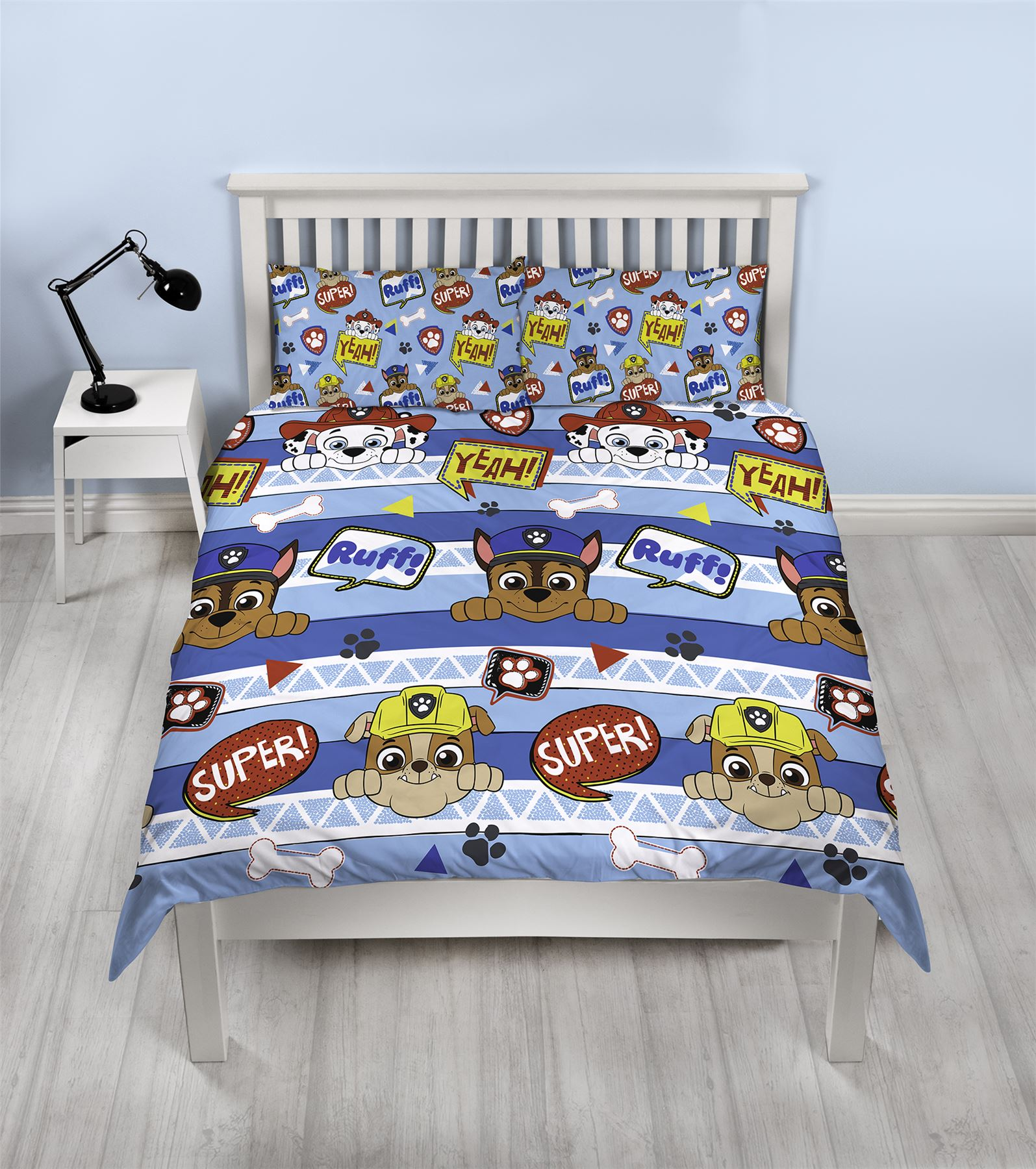 Official-Paw-Patrol-Licensed-Duvet-Covers-Single-Double-Chase-Skye-Marshall thumbnail 25