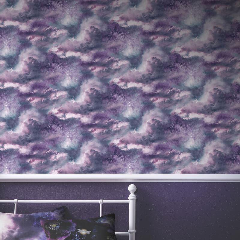 Arthouse-Diamond-Galaxy-Cloud-Effect-Wallpaper-5-Colours thumbnail 9