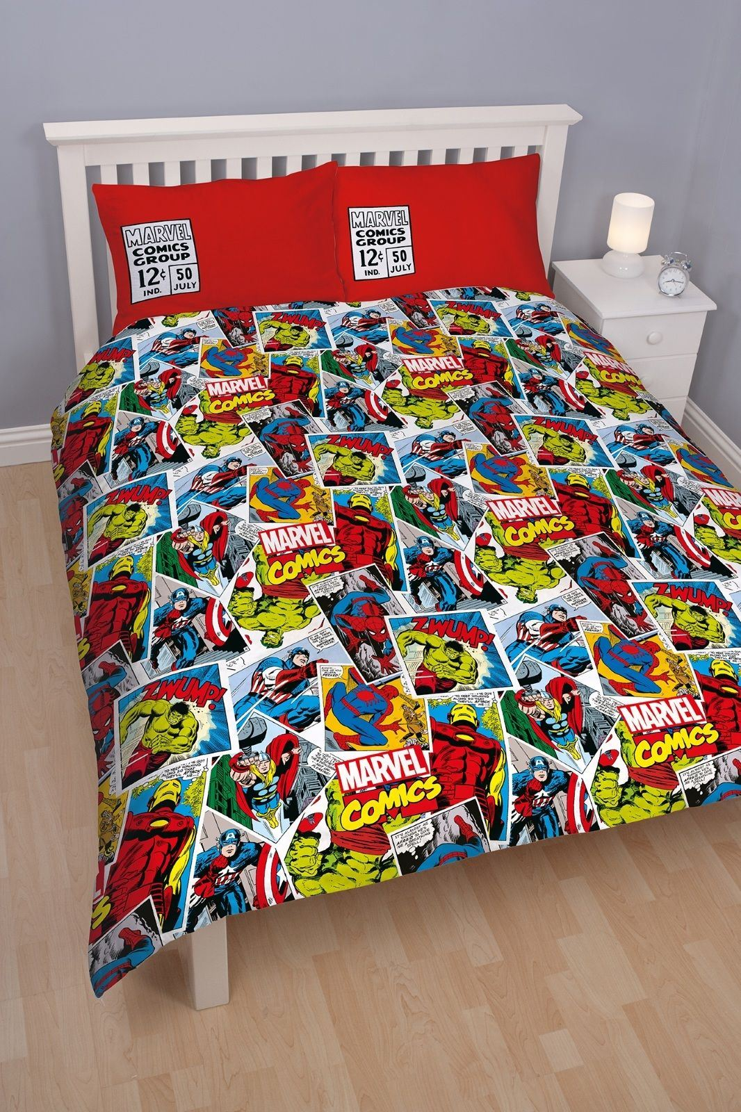Official-Marvel-Comics-Avengers-Licensed-Duvet-Covers-Single-Double thumbnail 29