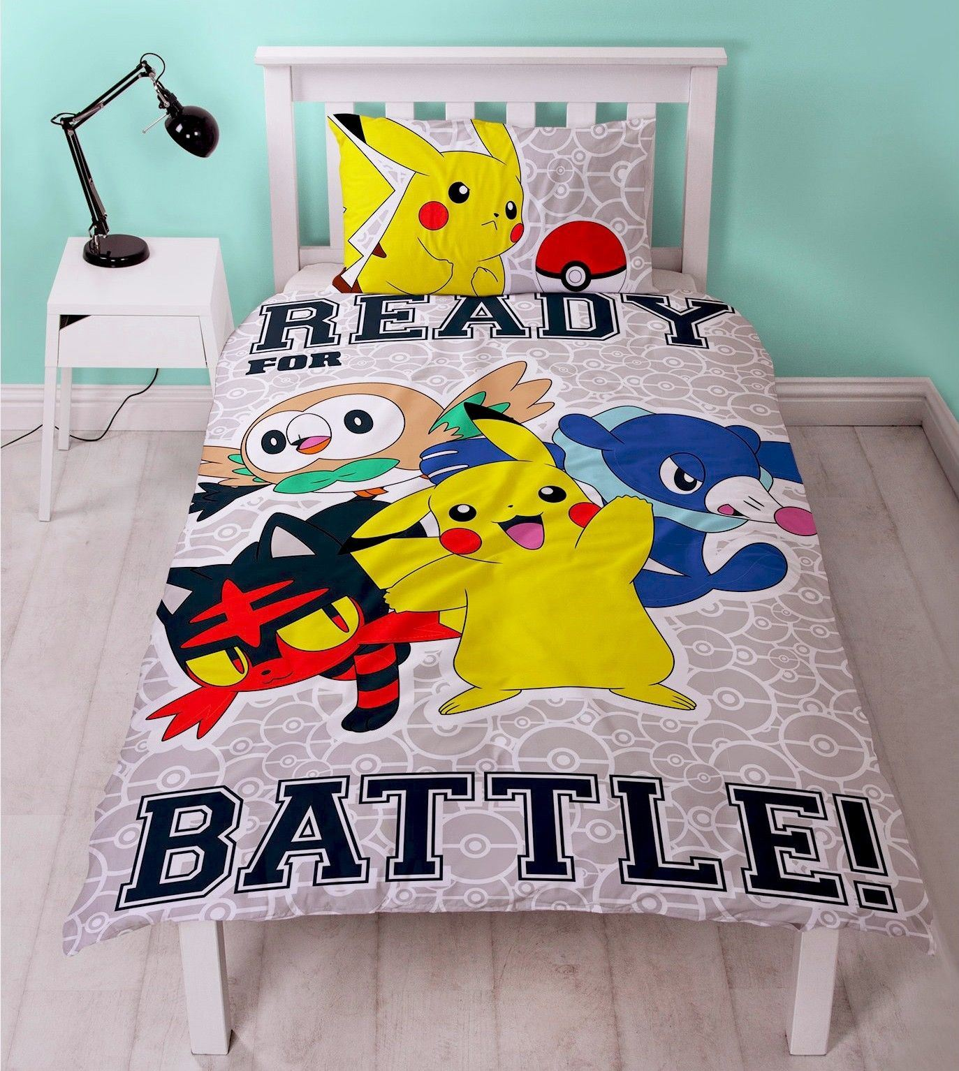 Official-Pokemon-Licensed-Duvet-Covers-Single-Double-Pikachu-Bedding-Gaming thumbnail 13