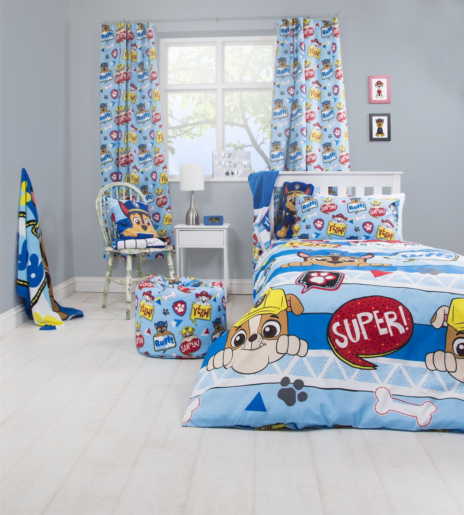 Official-Paw-Patrol-Licensed-Duvet-Covers-Single-Double-Chase-Skye-Marshall thumbnail 31