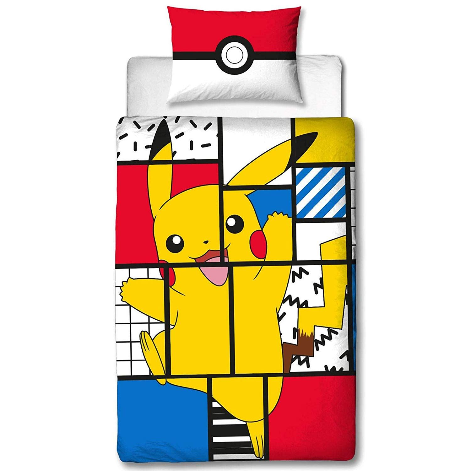 Official-Pokemon-Licensed-Duvet-Covers-Single-Double-Pikachu-Bedding-Gaming thumbnail 20