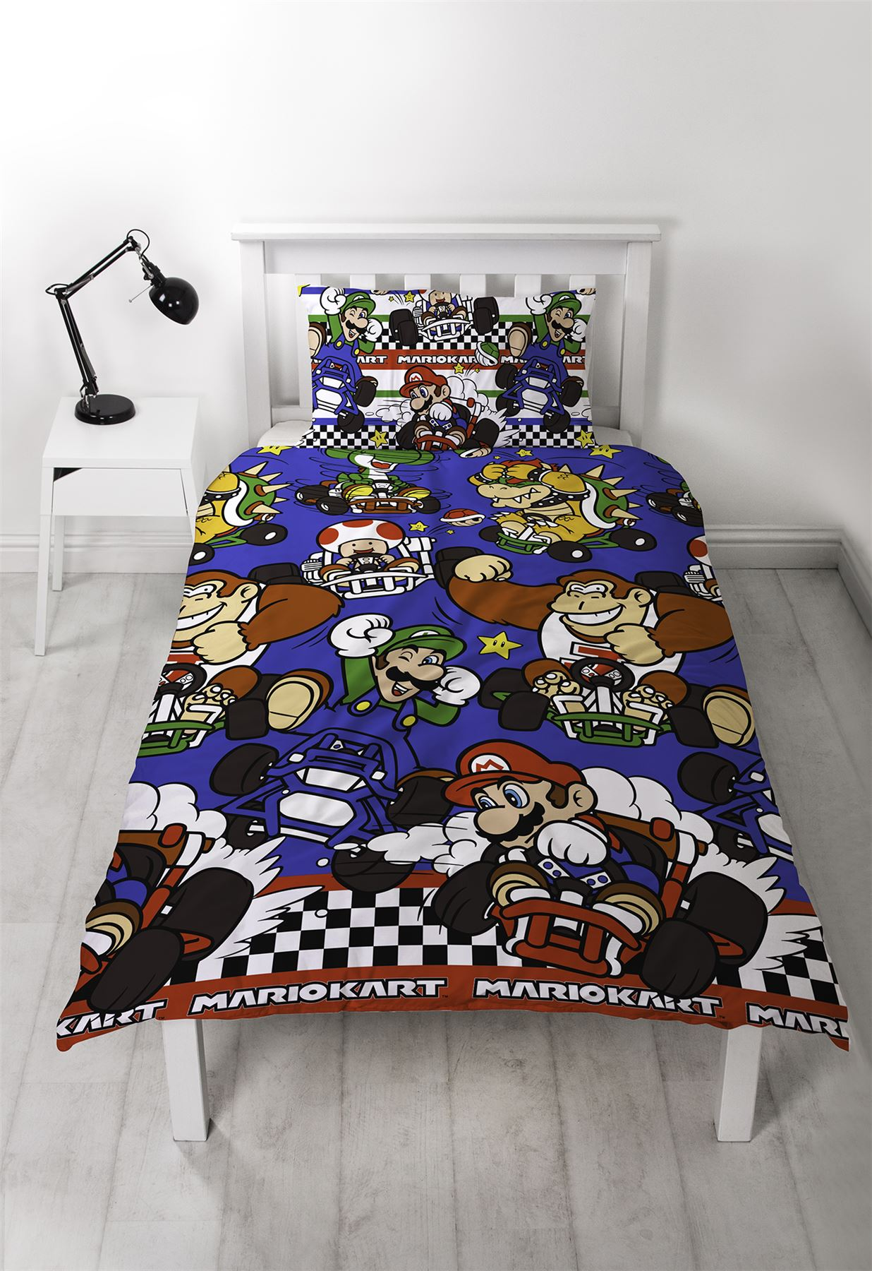 Official-Nintendo-Super-Mario-Licensed-Duvet-Covers-Single-Double-Odyssey-Maker thumbnail 26