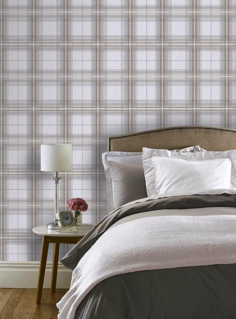 Checked-Tartan-Wallpaper-Textured-Glitter-Country-Check-Modern-Collection thumbnail 23