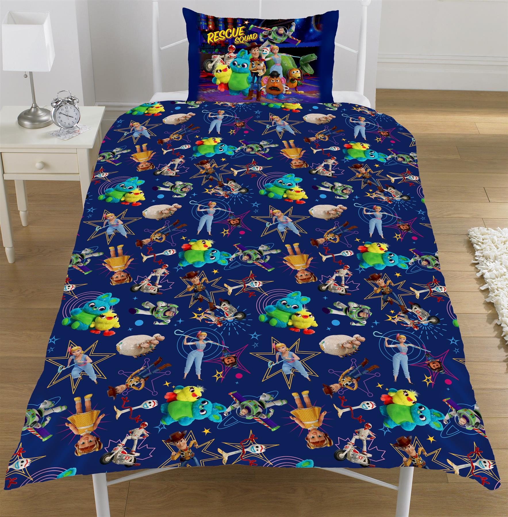 Official-Toy-Story-4-Duvet-Covers-Single-Double-Junior-Bedding-Buzz-Woody-Forky thumbnail 23