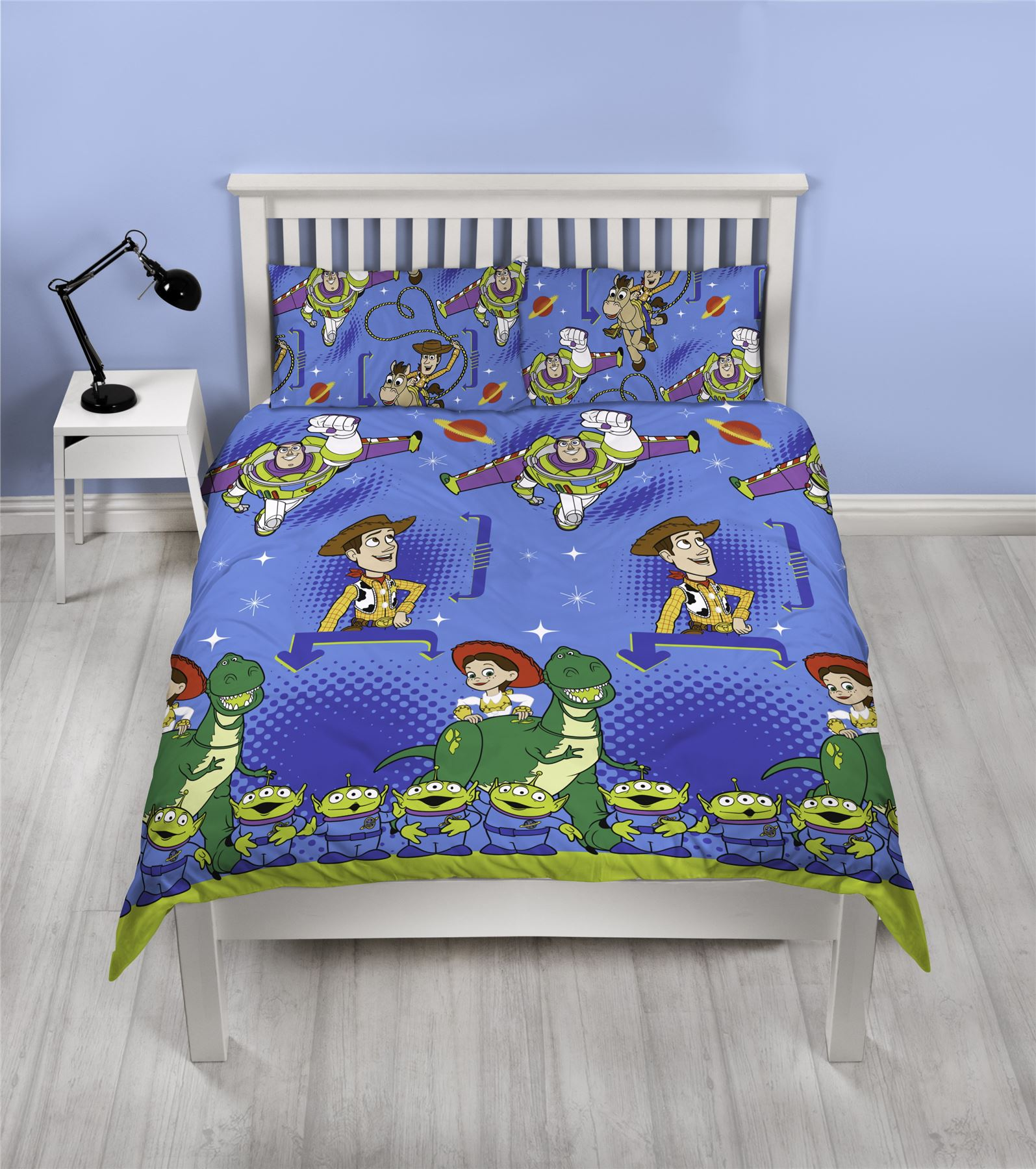 Toy-Story-Friends-Single-Double-Reversible-Duvet-Cover-Bedding-Official-Disney thumbnail 3