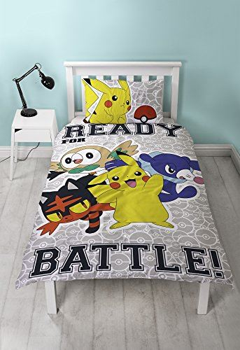 Official-Pokemon-Licensed-Duvet-Covers-Single-Double-Pikachu-Bedding-Gaming thumbnail 12