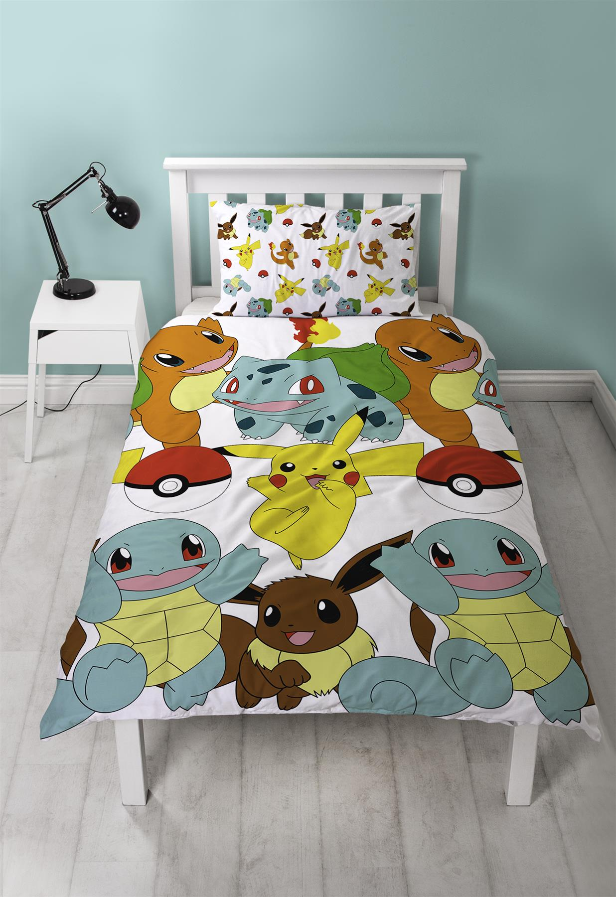 Official-Pokemon-Licensed-Duvet-Covers-Single-Double-Pikachu-Bedding-Gaming thumbnail 31
