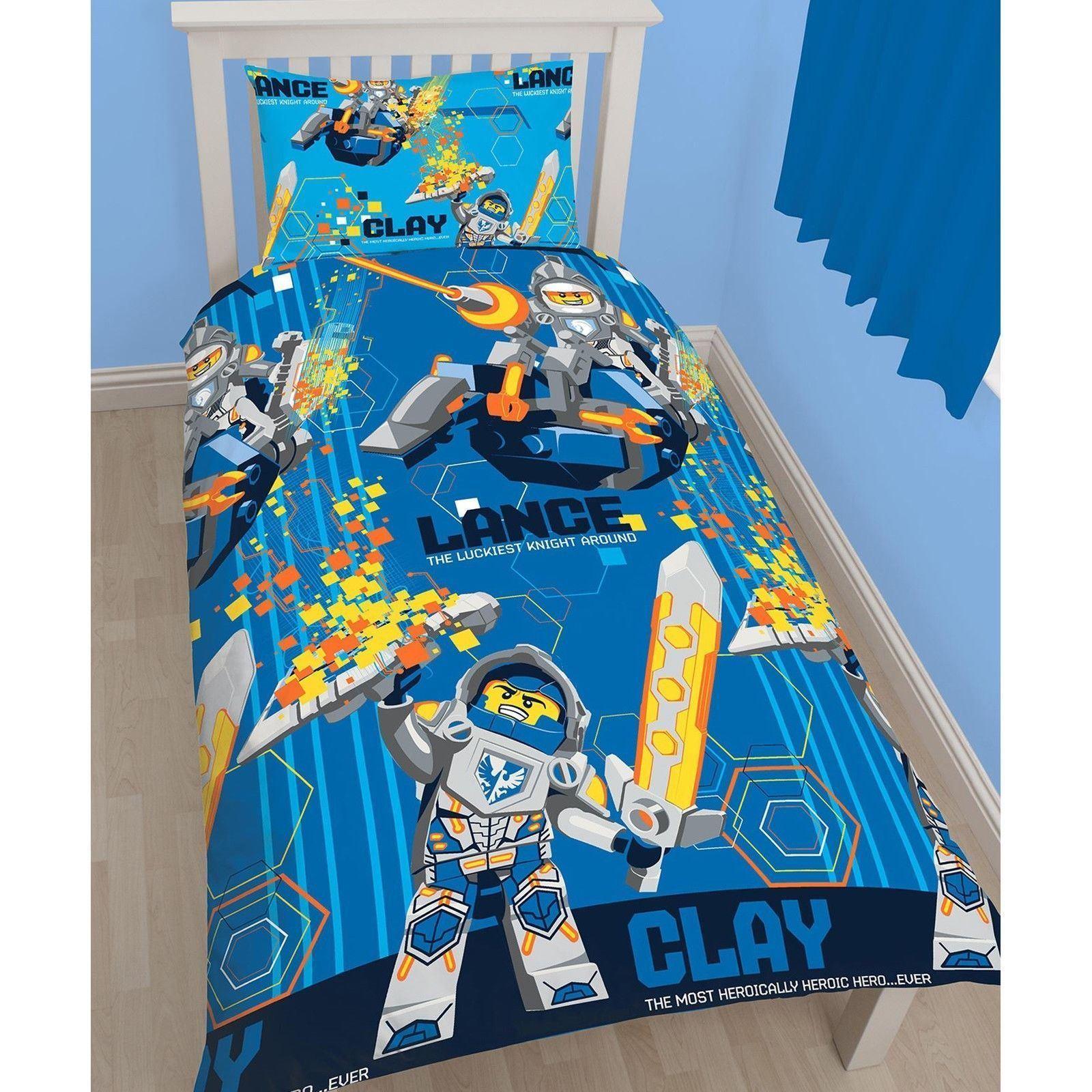 Official-Licensed-Lego-Duvet-Bedding-Ninjago-Batman-Star-Wars-Jurassic thumbnail 26