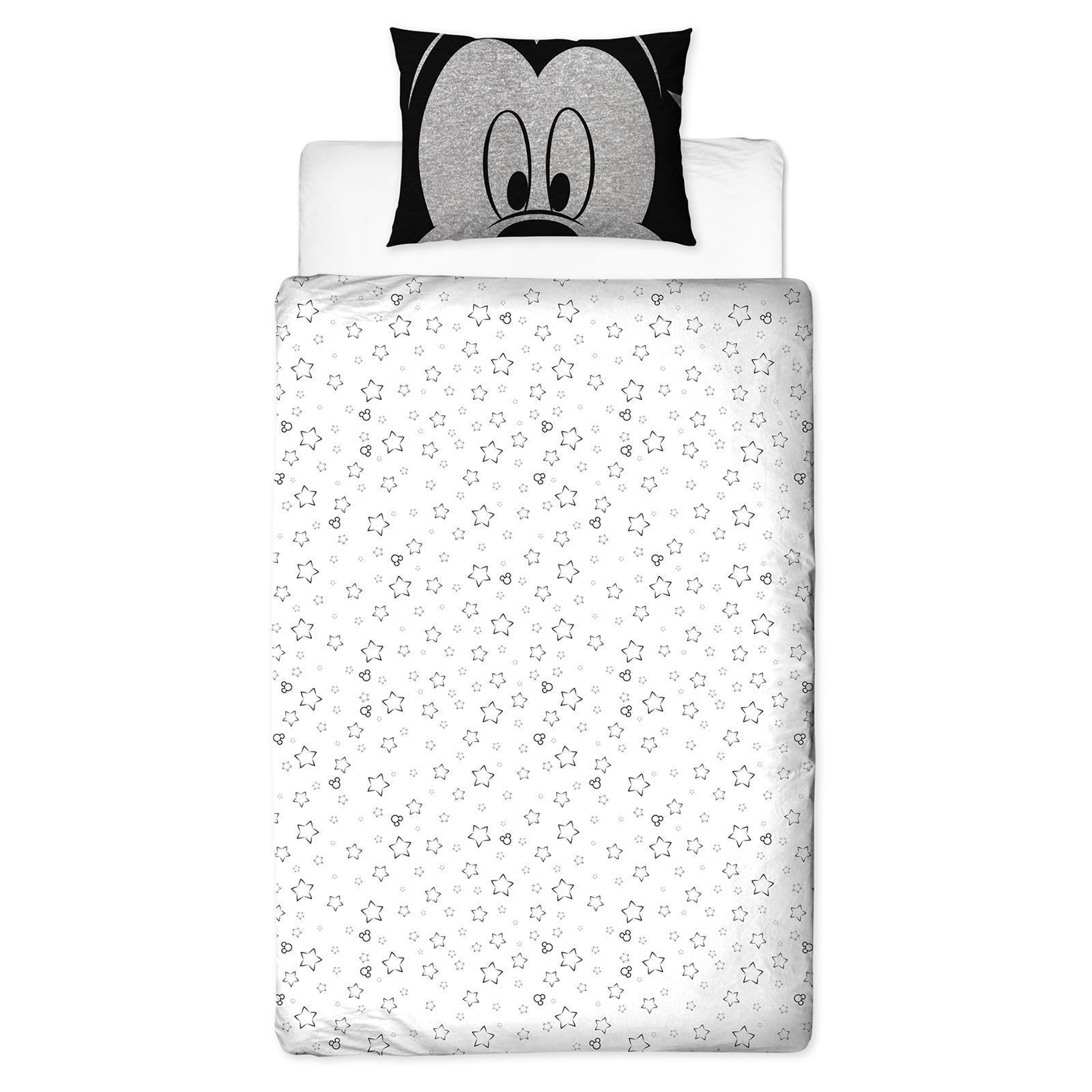 Disney-Mickey-Minnie-mouse-fundas-nordicas-SINGLE-doble-Ropa-De-Cama-Reversible miniatura 10