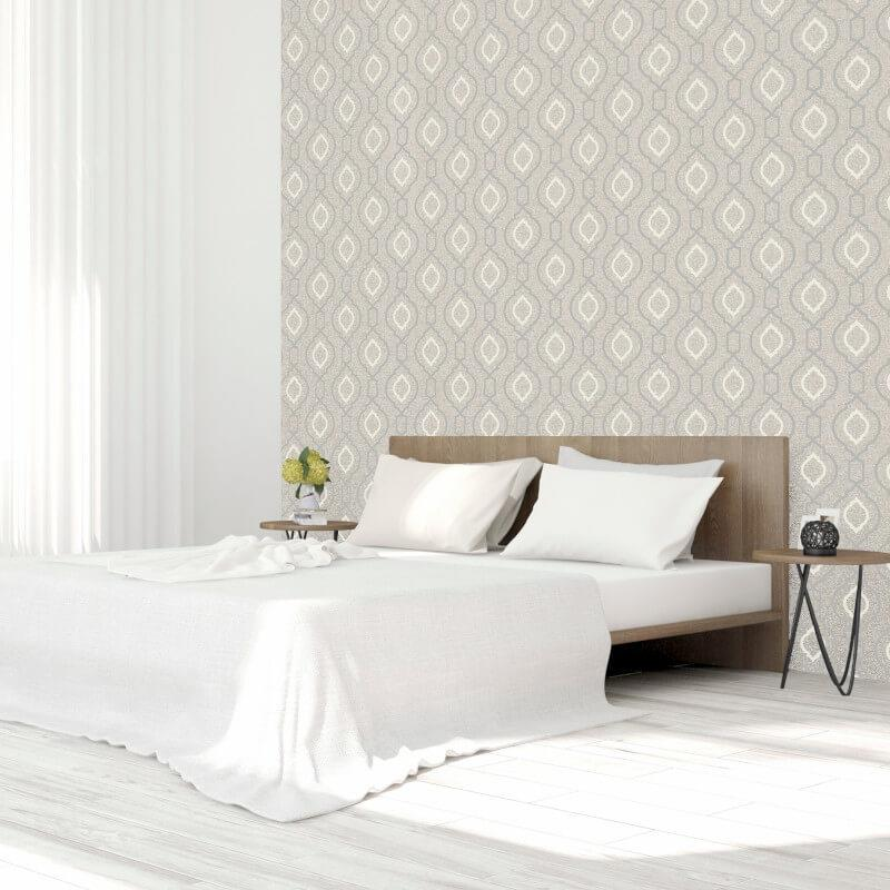 Arthouse-Calico-Range-Trellis-Floral-Dot-Stripe-amp-Plain-Textured-Wallpaper thumbnail 34