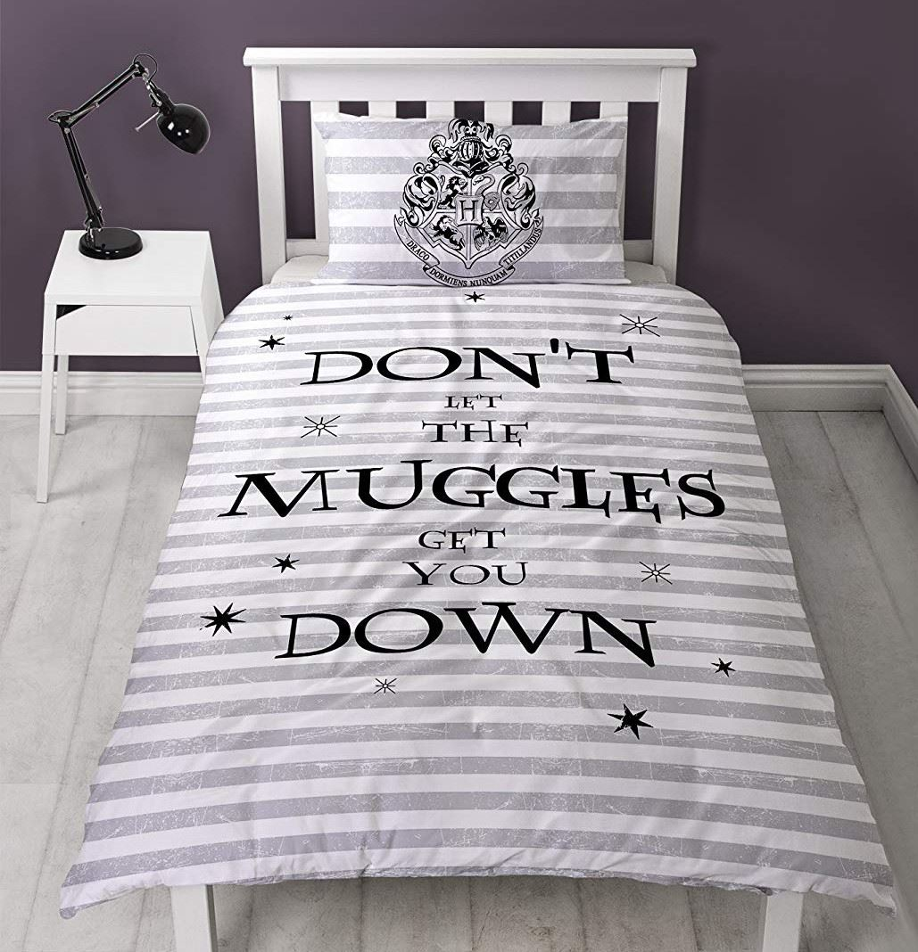 Official-Harry-Potter-Licensed-Duvet-Covers-Single-Double-Muggles-Hogwarts-Charm thumbnail 41