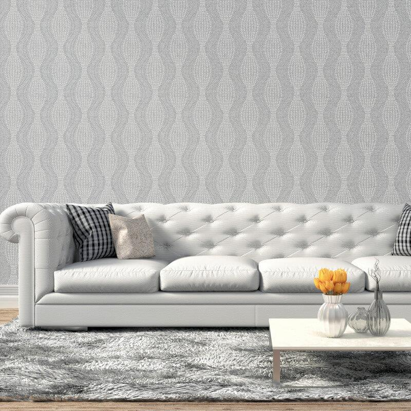Arthouse-Calico-Range-Trellis-Floral-Dot-Stripe-amp-Plain-Textured-Wallpaper thumbnail 3